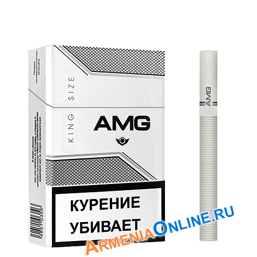 "Армянские сигареты ""AMG King Size"" White 84mm ""SPS Cigaronne"""