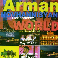 Арман Оганнисян Live concert World 2CD