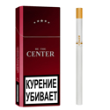 "Армянские сигареты ""Center Super Slims"" Red 100mm ""SPS Cigaronne"""