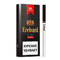 "Армянские Сигареты ""Erebuni"" Black Slims 100mm ""GRAND TABACCO"""