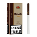 "Армянские Сигареты ""BLACK TIP"" Virginia Blend Slim Size 100mm ""GRAND TABACCO"""