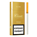 "Армянские Сигареты ""Classic Gold"" Slims 100mm ""GRAND TABACCO"""