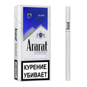 "Армянские сигареты ""Ararat Charcoal"" Slims 100mm ""GRAND TABACCO"""