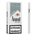 "Армянские сигареты ""Ararat Exclusive"" Slims 100mm ""GRAND TABACCO"""