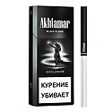 "Армянские Сигареты ""Akhtamar"" Exclusive Black Flame 120mm ""GRAND TABACCO"""