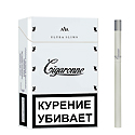 "Армянские сигареты ""Cigaronne Ultra"" Slims White 84 mm NEW ""SPS Cigaronne"""