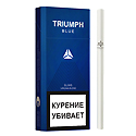 "Армянские Сигареты ""TRIUMPH  Blue Slims"" 100mm ""GRAND TABACCO"""